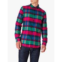 PS Paul Smith Cotton Check Shirt, Pink Check
