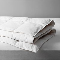 John Lewis and Partners Natural Duck Feather and Down Duvet, 4.5 Tog