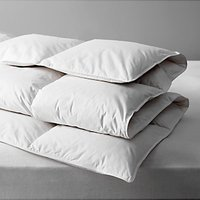 John Lewis and Partners Natural Duck Feather and Down Duvet, 13.5 Tog