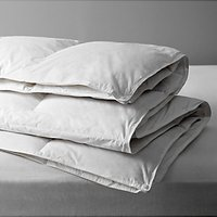 John Lewis and Partners Natural Duck Feather and Down 3-in-1 Duvet, 13.5 Tog (4.5 + 9 Tog)