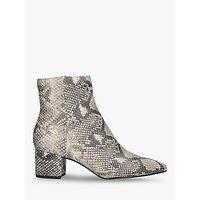shop for Dolce Vita Bel Snakeskin Print Ankle Boots, Multi at Shopo