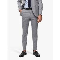 SELECTED HOMME Slim Fit Suit Trousers, Light Grey