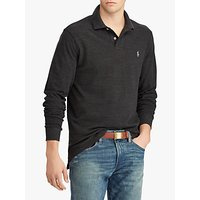 Polo Ralph Lauren Custom Slim Fit Mesh Long Sleeve Polo Shirt