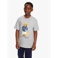 Polo Ralph Lauren Boys Bear T-Shirt, Grey