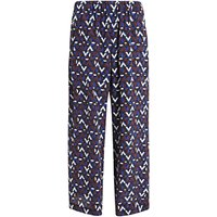 Weekend MaxMara Egeo Silk Trousers, Multi