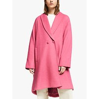 Gestuz Davinagz Oversized Coat, Rapture Rose