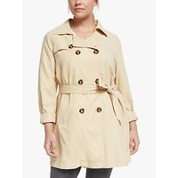 JUNAROSE Newtukka Trench Coat, Pebble