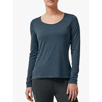 On Performance-T Long Sleeve Running Top, Navy