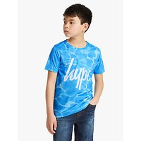 Hype Boys Pool Print T-Shirt, Blue