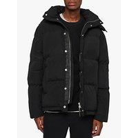 AllSaints Edbury Puffer Jacket, Black