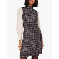 Monsoon Felissa Tweed Check Dress, Multi