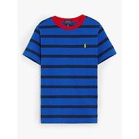 Polo Ralph Lauren Boys' Stripe T-Shirt, Blue