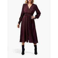 Forever New Evie Midi Dress, Wineberry