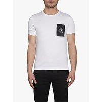 Calvin Klein Jeans Organic Cotton Monogram Pocket Slim T-Shirt