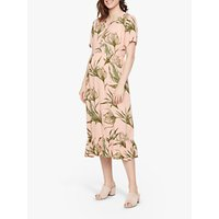 Mamalicious Darling Midi Maternity Dress, Mellow Rose