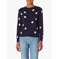 PS Paul Smith Cotton Spot Cardigan, Navy 49