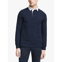 Polo Ralph Lauren Rugby Polo Shirt, French Navy