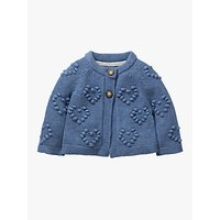 Mini Boden Baby Textured Heart Cardigan