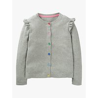 Mini Boden Girls Everyday Cardigan, Grey