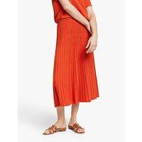 Weekend MaxMara Nichel Skirt, Rust