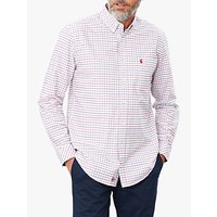 Joules Welford Check Shirt, White/Multi