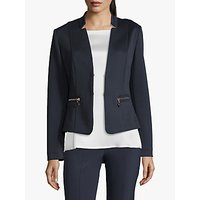 Betty Barclay Waffle Textured Jacket, Dark Sky