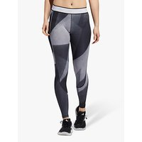 adidas Alphaskin Long Training Tights, Glory Grey/White