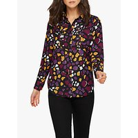 Damsel in a Dress Sheri Abstract Print Shirt, Multi