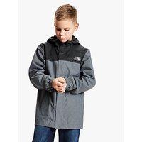 The North Face Boys Resolve Waterproof Jacket, Grey/Black