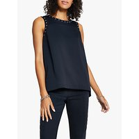 Harpenne Stud Detail Shell Top