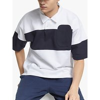 Garbstore Drop Out Sports GOTS Organic Cotton Rugby Polo Shirt