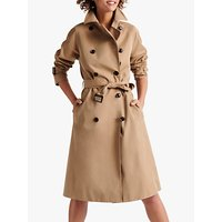 Gerard Darel Domenica Double Breasted Trench Coat, Camel
