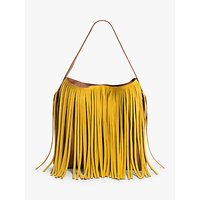 Gerard Darel Lady Hair Leather Shoulder Bag, Sun