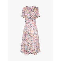 Gerard Darel Salvina Floral Midi Dress, Ecru