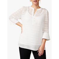 Studio 8 Hannah Textured Top, Ivory