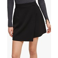 French Connection Alido Sundae Wrap Skirt, Black