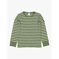 Polarn O. Pyret Children's GOTS Organic Cotton Stripe Top
