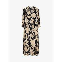 Calvin Klein Floral Print Maxi Dress, Multi
