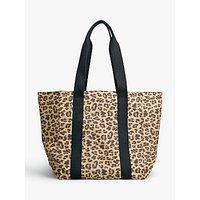 shop for hush Milos Leopard Print Tote Bag, Brown at Shopo