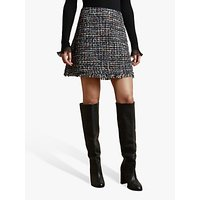 Ted Baker Nollas Boucle Mini Skirt, Black