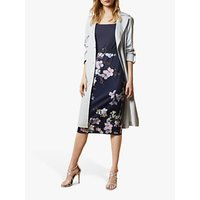 Ted Baker Laarra Floral Pencil Dress, Navy