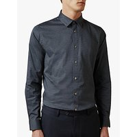Ted Baker Tillnow Cotton Geometric Print Shirt