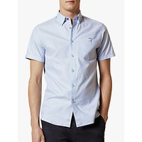 Ted Baker Yesso Cotton Oxford Short Sleeve Shirt