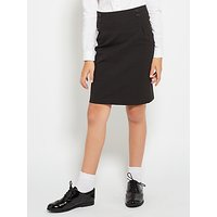 John Lewis and Partners Girls Stain Resistant School Pencil Skirt