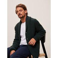 John Lewis and Partners Wool Cashmere Shawl Collar Cardigan