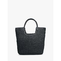 shop for hush Miami Woven Tote Bag, Black at Shopo