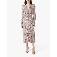 Finery Edwin Floral Print Midi Dress, Multi