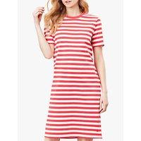 Joules Liberty Jersey Dress, Poppy Stripe