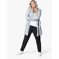 Live Unlimited Curve Longline Hooded Cardigan