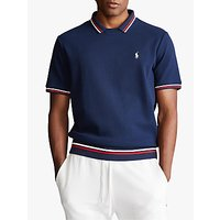 Polo Ralph Lauren Jersey Tennis Top, Cruise Navy
